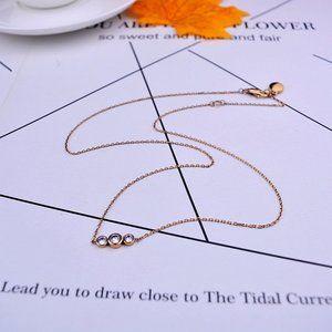 💕Michael Kors Single Row Diamond Necklace